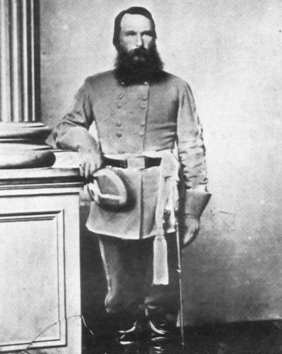 Civil War Photo CSA Confederate General James Longstreet