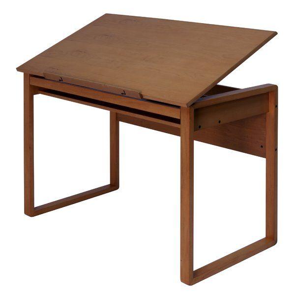 Ponderosa Adjustable Drafting Table In 2019 House Dream Wood