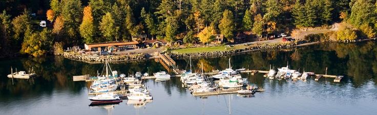 Snug Harbor Resort - San Juan Island - cabins and camping