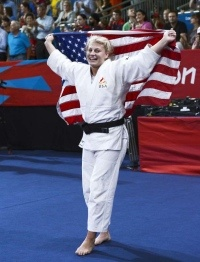Kayla Harrison first-ever U.S. gold medal in women's Judo Olympics 2012