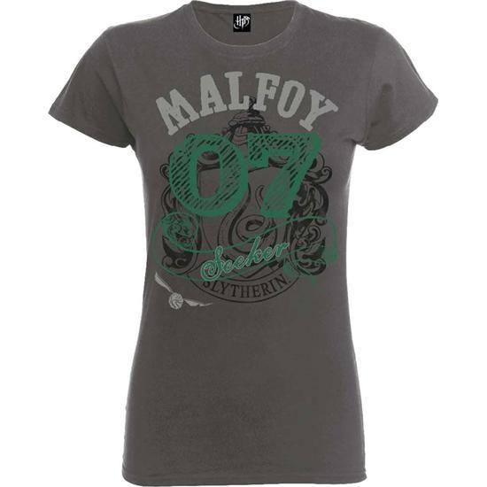 Harry Potter Draco Malfoy Seeker T-shirt (dame model)