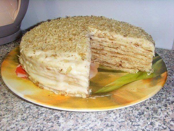 Самые вкусные рецепты: Творожный торт на сковороде