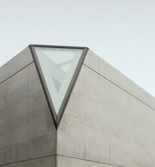 Details we like / Window / Architecture / concrete / Triangle / at leManoosh