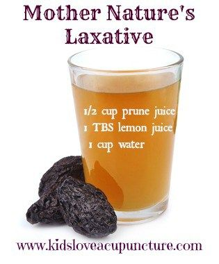 Why is prune juice such a good laxative?