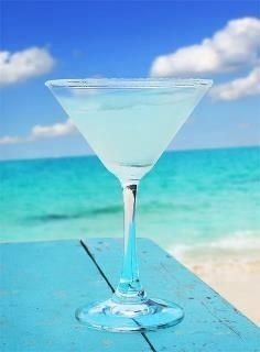 Aqua Cocktail - we will find one to have at the beach!