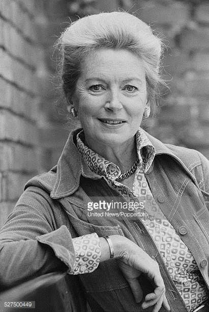 Scottish actress Deborah Kerr who appears in the West End run of the play Candida pictured in London on 24th May 1977