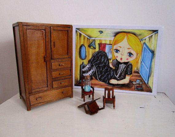 Alice in wonderlan print personal tribute Almost di ValentinaZummo