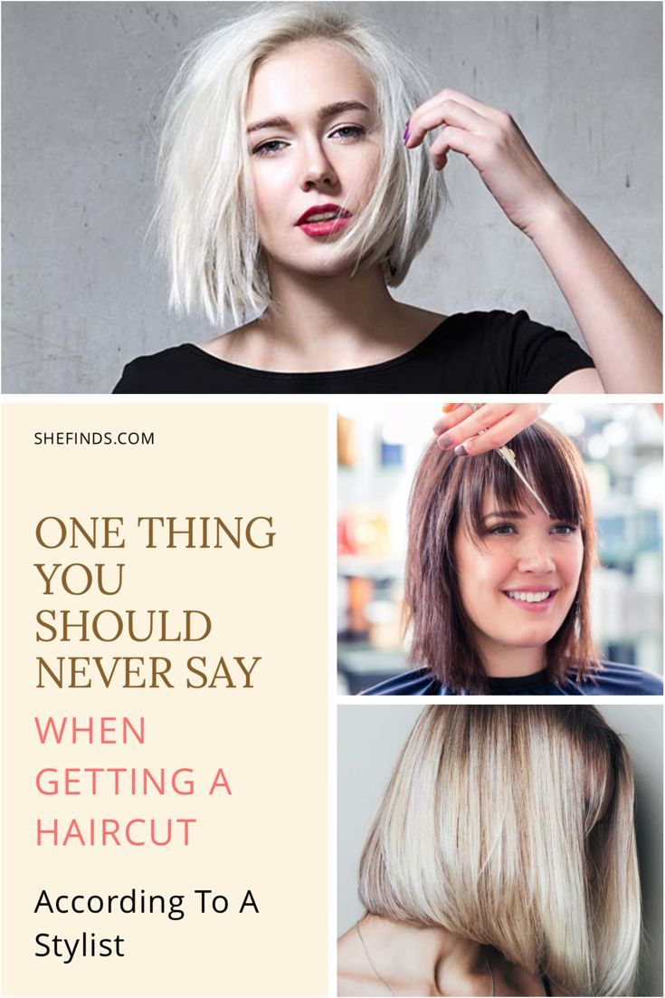 The One Thing You Should Never Say When Getting A Haircut