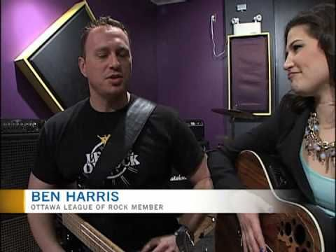 League Of Rock's Dick Cooper from the famed Cooper Brothers Band w/ LOR Member - Ben Harris On CTV Ottawa.