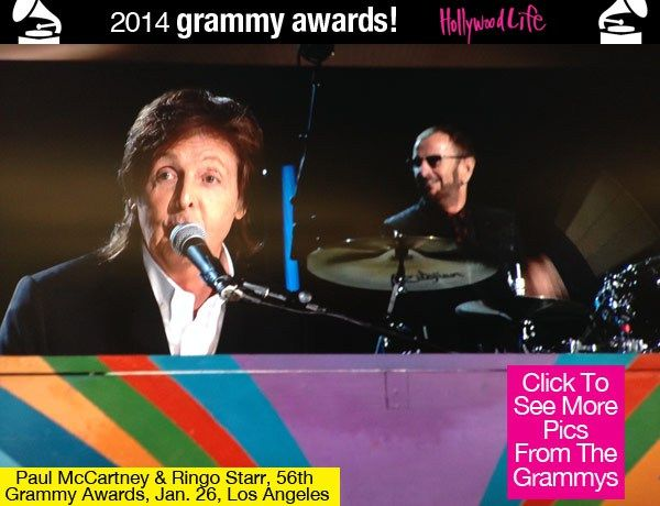 paul mccartney ringo starr grammies | Paul McCartney & Ringo Starr Reunite For Rocking Grammys Performance