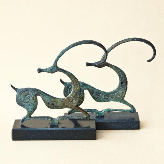 Metal Ibex Sculpture, Wild Goat, Metal Art Sculpture, Constellation Capricorn, Museum Quality, Geometric Greek Art, Art Decor, Art Gift Idea