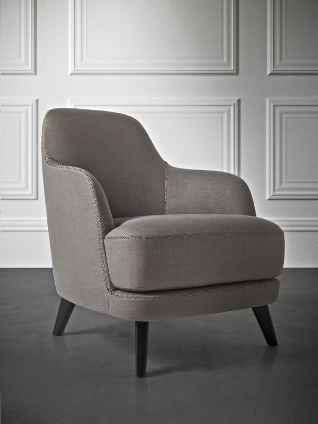 Elegance & comfort. LIZ armchair by Roberto Lazzeroni for @Casamilano_  home collection.
