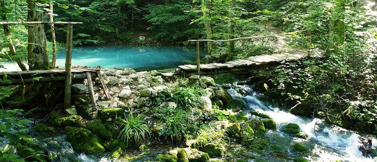 Ochiul Beului Lake - Nera Gorges National Park - ROMANIA