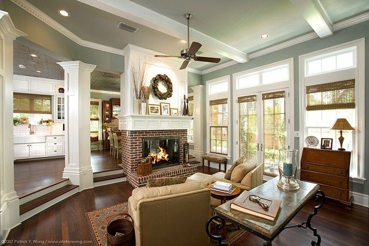 1000+ images about step down living room on Pinterest ...
