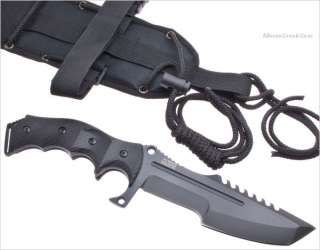 MTech Xtreme Tactical Fighting Sawback Tanto Knife Combat/Survival