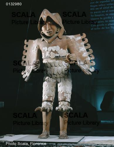 Guerriero aquila azteco