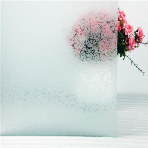 Fönsterfilm (statisk)- Frost Vinterfrost