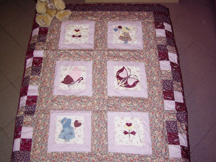 Little quilt for a baby