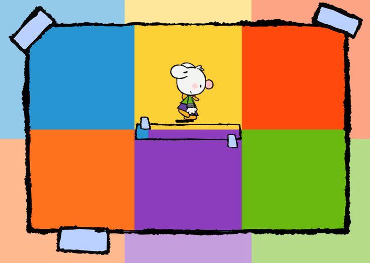 JEU ÉDUCATIF | Le Petit Lapin blanc connaît plein de jeux très amusants. Ses amis racontent des histoires extraordinaires! Vos enfants aimeraient beaucoup les jeux proposés :)