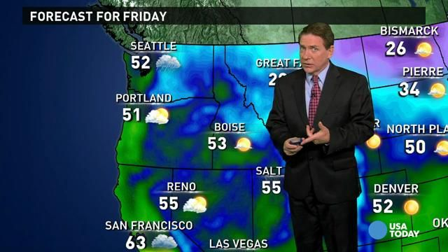 Dec 5 - Friday's forecast: Will rain impact your weekend?