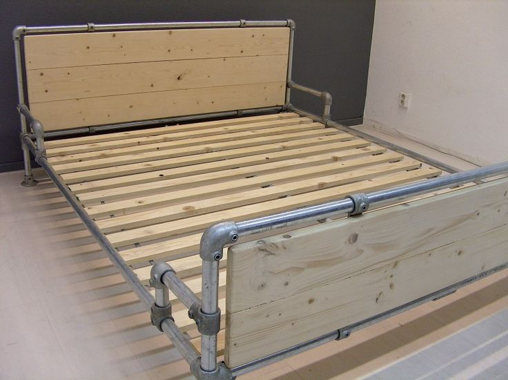 bed made with kee klamp pipe fittings beds made with