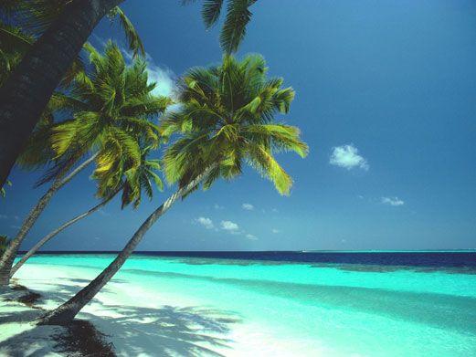 Beautiful beach in Saint Maarten, Caribbean. Want to go someday!!
