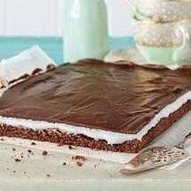 Chocolate Peppermint Slice - Gluten Free