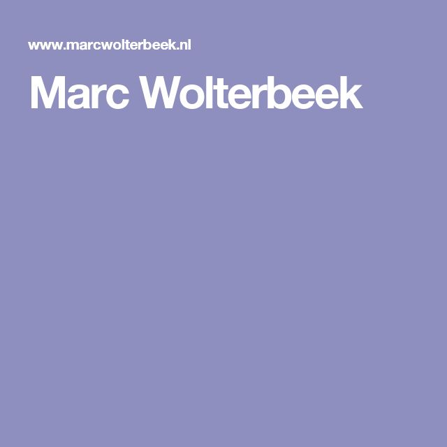 Marc Wolterbeek