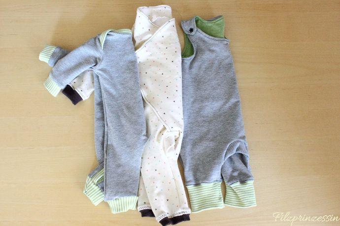 Filzprinzessin - Baby Strampler * Kostenlose Schnittmuster * Free Pattern