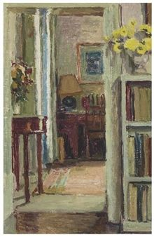 The Doorway By Duncan Grant ,Circa  1955