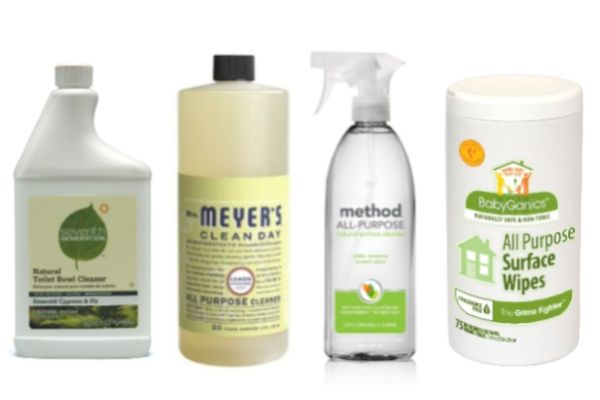 The Best All-Natural Cleaning Products For Your Home (personally, I would remove 7th Generation and include Ecover to this list)