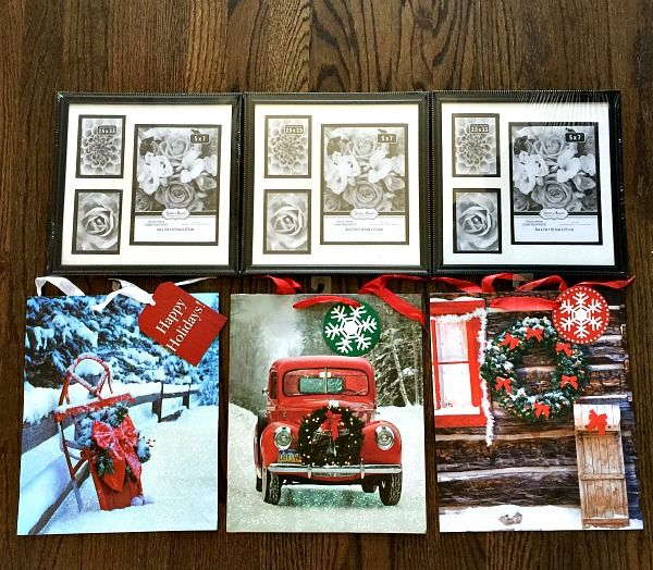 Dollar Tree Christmas Decor And Gift Ideas: Frames For Dollar Tree Christmas Art