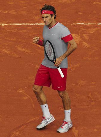Tenue Nike de Roger Federer lors de l'édition 2014 de Roland Garros.