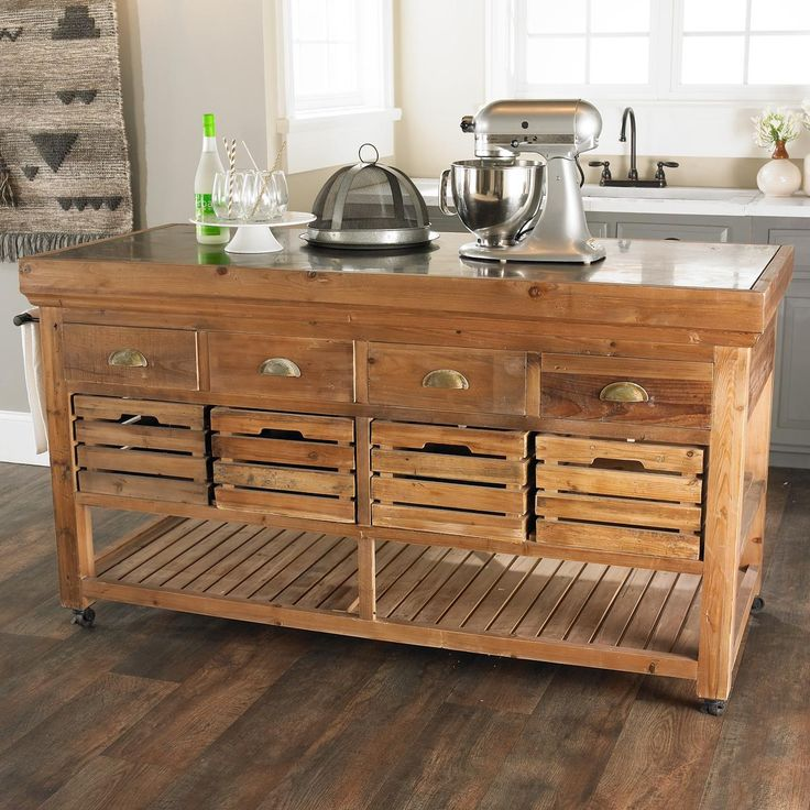 What Is A Kitchen Island With Pictures: Office & Craft Room Work Tables