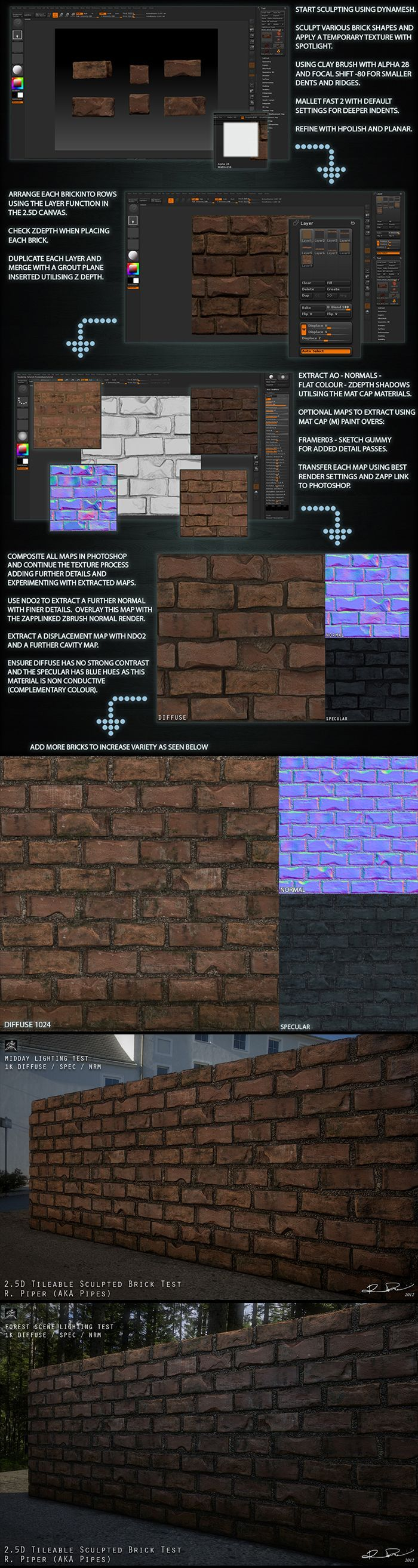 tileable texture by richard piper: