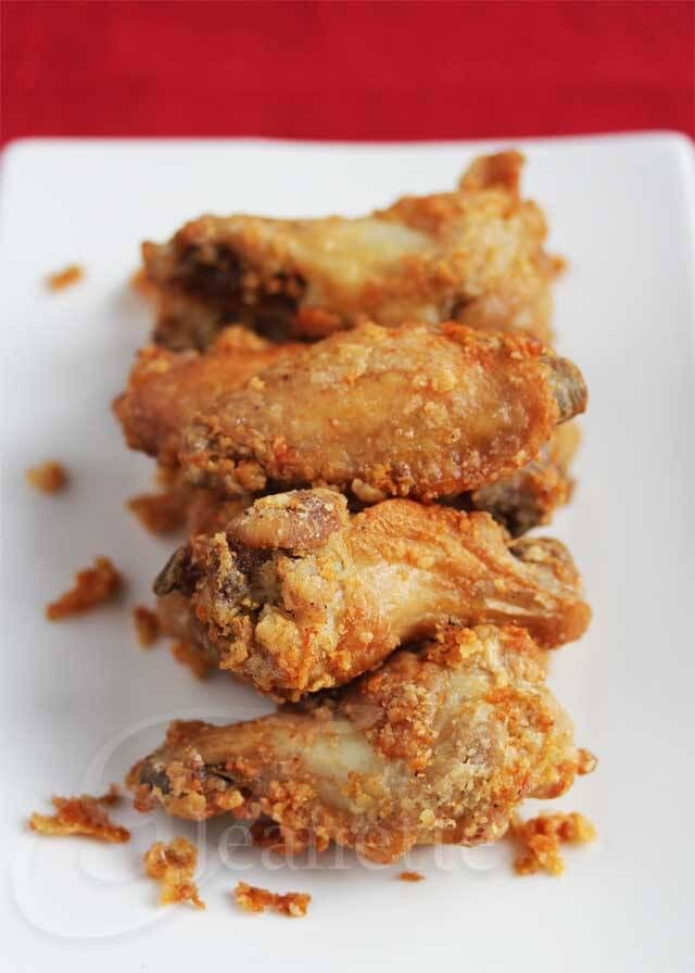 Crispy Un-Fried Chicken Wings - T-Fal ActiFry Product Review (Giveaway) - Jeanette's Healthy Living