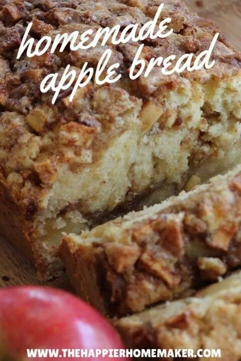 Homemade Apple Bread