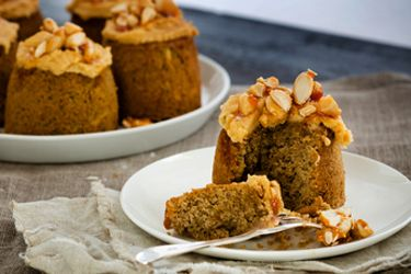 Kumara coffee praline cakes recipe, Viva – visit Food Hub for New Zealand recipes using local ingredients – foodhub.co.nz