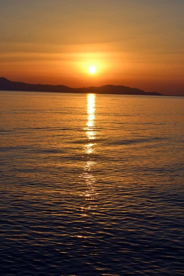 Sunrise..... a really beautiful moment.... Psaropouli, Vassilika, Greece