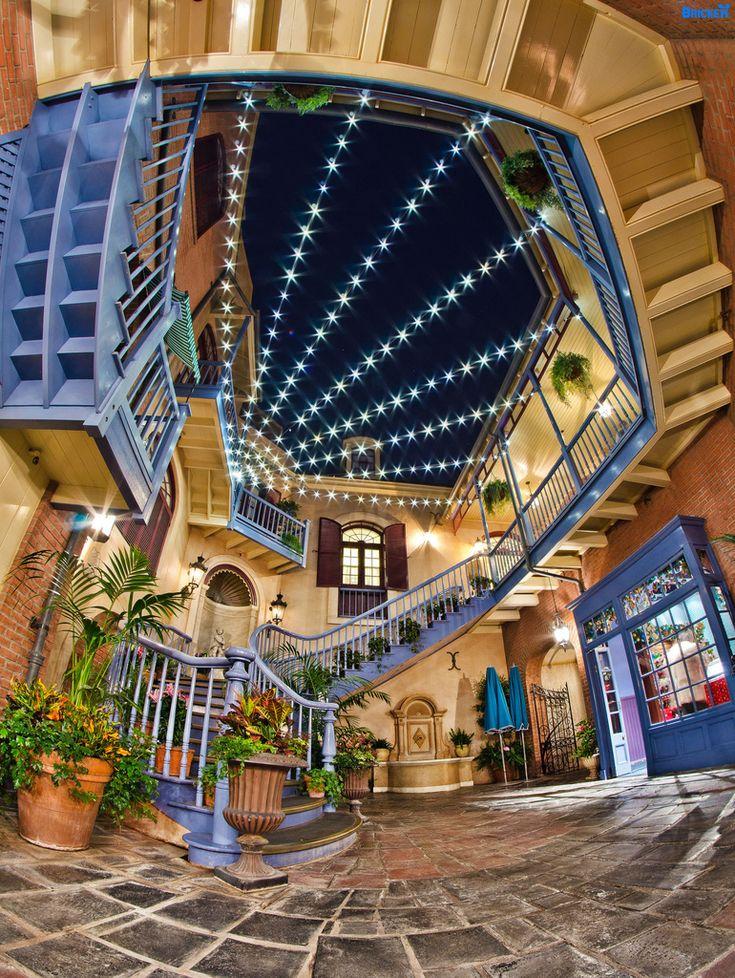Disneyland's New Orleans Square