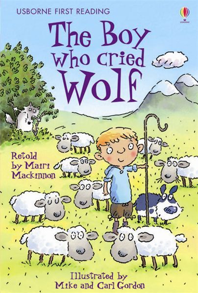 Picture No. 10  The Boy Who Cried Wolf