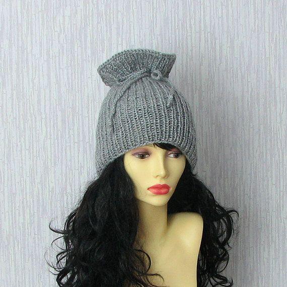 Slouchy Hat Dread Hat Beanie Scarf Slouch Beanie by AlbadoFashion, $34.00