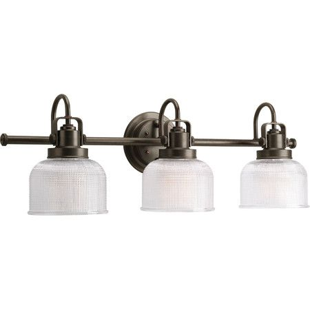 bathroom track lighting master bathroom ideas. progress lighting archie 3 light prismatic up down bath vanity in antique nickel bathroom track master ideas h