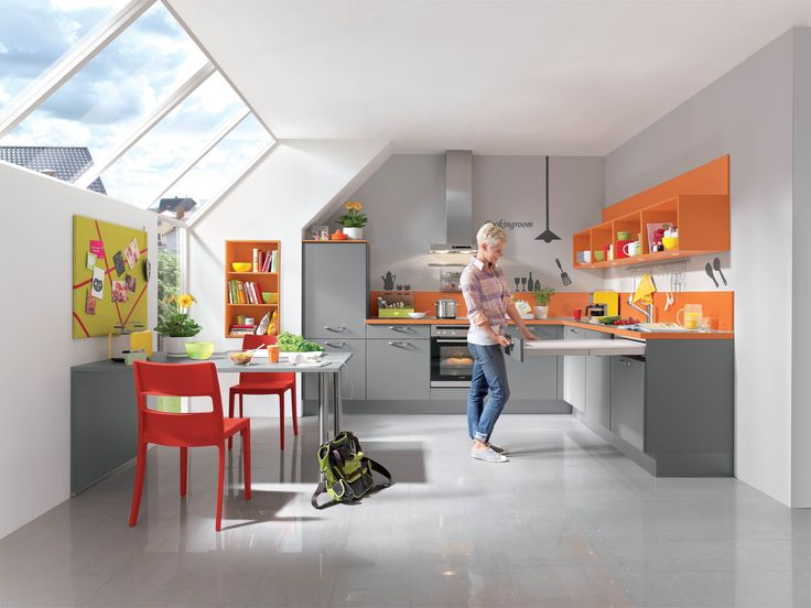 Bright contemporary with splashes of colour smc kitchens pontyclun are the exclusive suppliers of