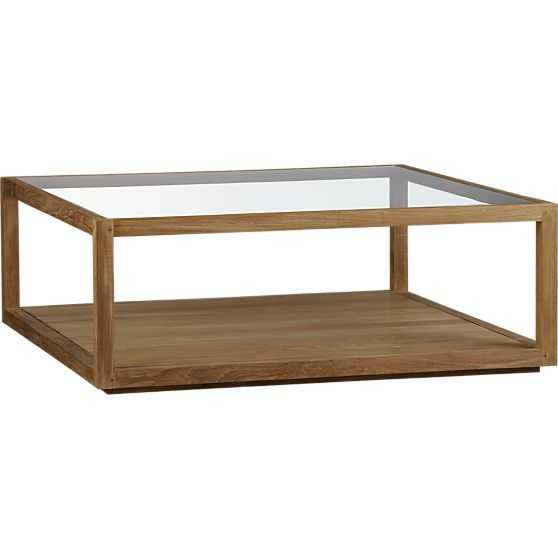 Structure Square Coffee Table in Coffee Tables & Side Tables   Crate and Barrel