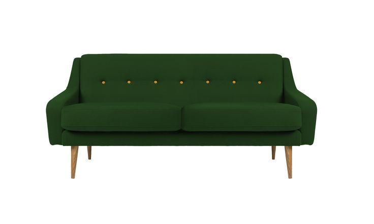 Первая модель винтажной серии мебели компании VYSOTKA home.  В этой серии мы выражаем свою любовь и восхищение предметами мебельного дизайна середины 20-го века.  Модель представляют собой интерпретацию английского шедевра начала 60-х годов.   Ножки: массив дуба Наполнение: полиуретан Обивка: ткань (основная категория) Цвет: на выбор из нашей коллекции тканей Спинка с точечной стяжкой Съемная подушка сиденья             Метки: Маленькие диваны.              Материал: Ткань, Дерево…