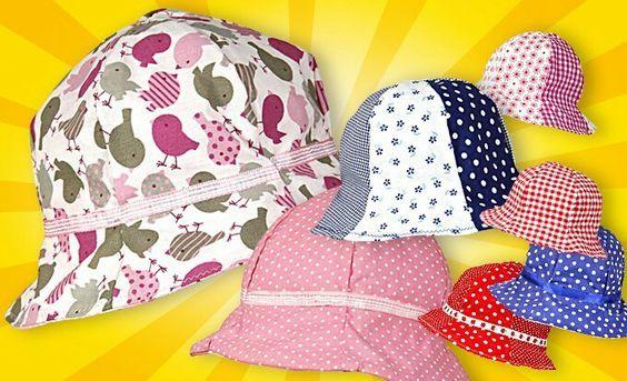 Sommerhut für Kinder nähen