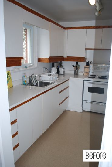 Lovely Updating 1980s Kitchen Cabinets