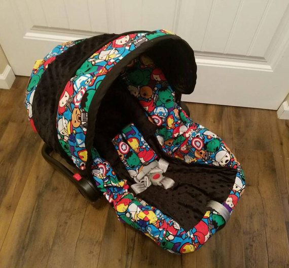 These car seat covers are great if you want to re-cover an old seat or give a new seat a great boutique look. The car seat cover goes over your existing car seat as it has an elastic bottom to stay secure to the car seat base. The canopy is a replacement. Covers are machine washable