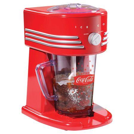 coca cola frozen slush drink maker margarita smoothie blender ice shaver machine - Feldstein Kaminsimse